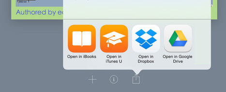 You can now share ebooks straight to iTunes U from your iPad - Book Creator app | Blog | iPad in de lerarenopleiding VIVES - campus Brugge | Scoop.it