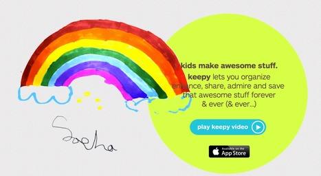 share, admire and save your kids art and school work | ICT Integration in Australian Schools | Scoop.it