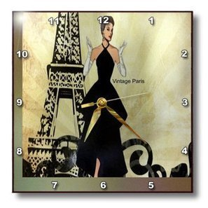 3dRose Lens Art by Florene Image of Vintage Ballerina Dances On Notes with Floral Border T-Shirts Musical Art