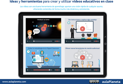 Ideas y herramientas para crear y utilizar vídeos educativos en clase - | Posibilidades pedagógicas. Redes sociales y comunidad | Scoop.it