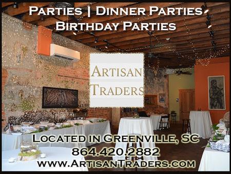 Artisantraders Parties Dinner Birthday Banquet