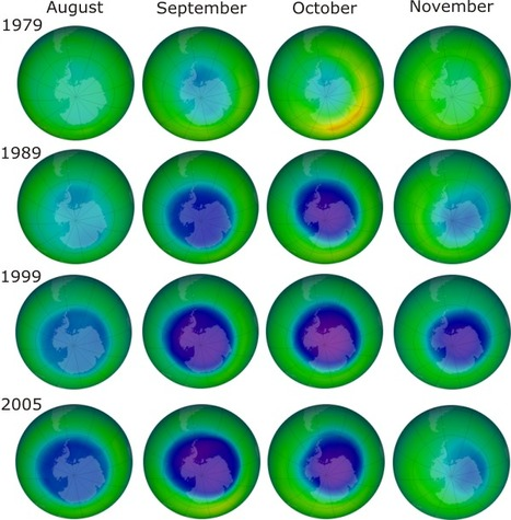 """Video - Ozone layer 'shows signs of recovery' (""""the planet is winning this battle vs CFCs"""") 