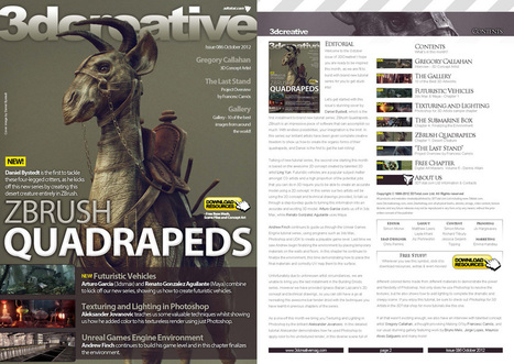 // 3DCreative: Issue 086 - Oct2012 (Download Only) // | 3D Curious & VFX | Scoop.it