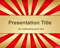 Circus Powerpoint Template In College