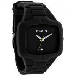 a31b6f74b7 Nixon The Rubber Player Men s Watch - Black Full Review
