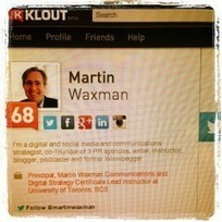 My Klout Score: It Loves Me, It Loves Me Not by @martinwaxman | SocialSizzlers | Scoop.it