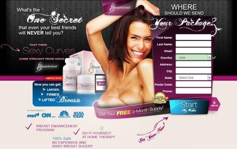 Breast Actives Pill In Health Supplement Scoop It