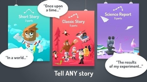 Google Launches Toontastic 3D, an App for Telling Animated Stories | LibraryLinks LiensBiblio | Scoop.it