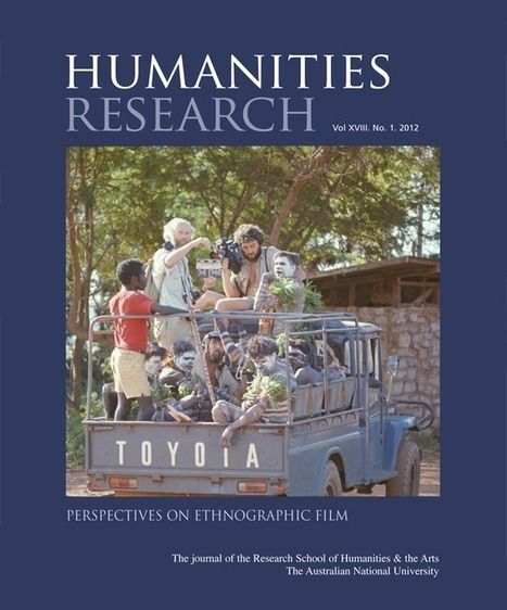 Humanities Research Vol XVIII. No. 1. 2012 - ANU E Press - ANU | Neuroanthropology | Scoop.it