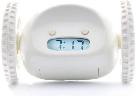 11 Alarm Clocks That Guarantee To Get You Of Bed - ODDEE | enjoy yourself | Scoop.it