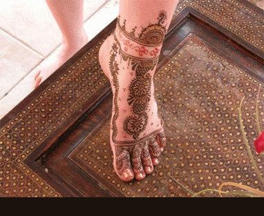 Mehndi Designs For Feet Bridal : Latest hands and feet bridal mehndi designs  trend in