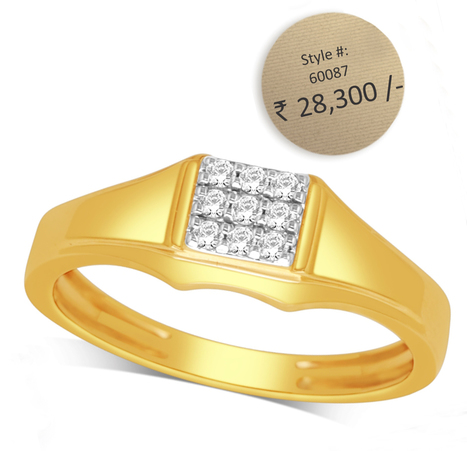 Men S Diamond Rings In Latest Indian Diamond Jewellery Designs