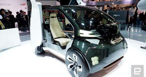 Inside Honda's money-making, AI-based NueV concept car   Heron   Scoop.it