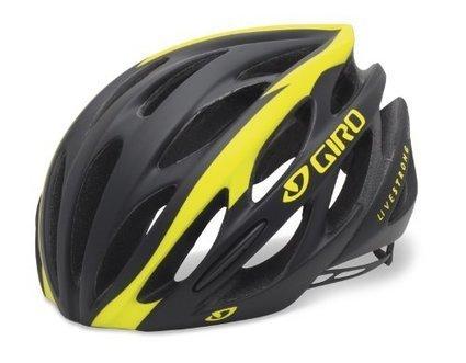 1abefceead2 Giro Saros Road Race Bike Helmet (Matte Black Yellow Livestrong