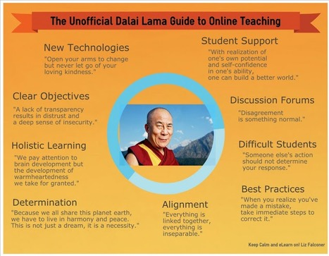 The Unofficial Dalai Lama Guide To Online Teaching   Iowa Learning Online   Scoop.it