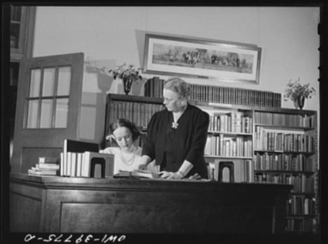 15 Vintage Photos of Librarians | LibraryLinks LiensBiblio | Scoop.it