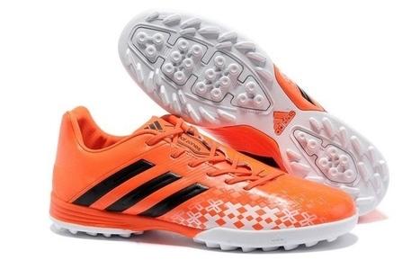 super popular 523a7 42bf6 fotbollsskor-adidas-Skor-PRodator-LZ-TRX-TF-Boots-Orange-Svart-Vit.jpg  (700x464 pixels)