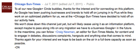 Early Google Plus media experiments - Lost Remote   The Google+ Project   Scoop.it