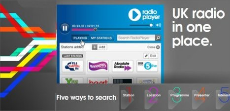 Radioplayer | UK radio in one place. | technologies | Scoop.it