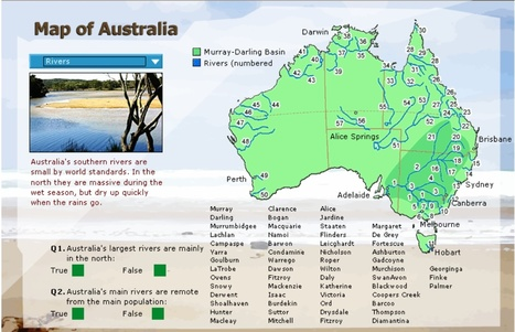 The Murray River Interactive Resources For Year 3 And 4 Teachers