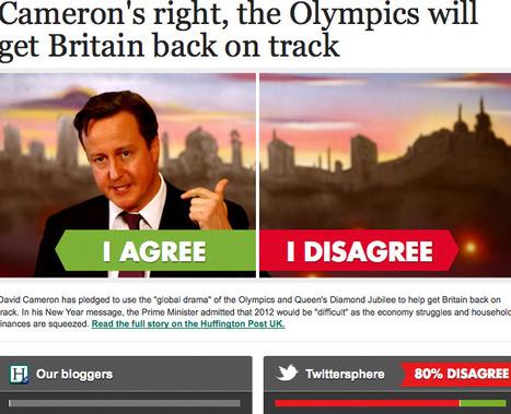 Cameron's right, the Olympics will get Britain back on track | Modèles et typologies du débat. La médiation de conflits. | Scoop.it