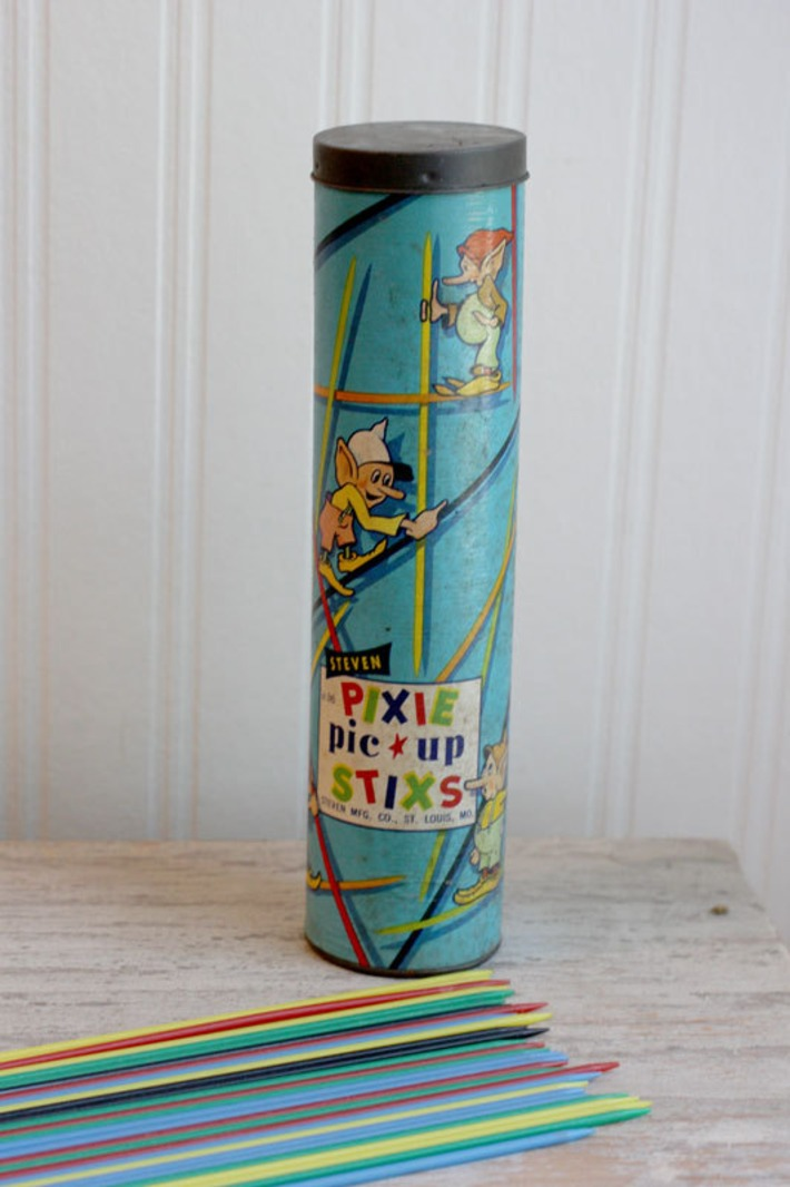 1950s Pick Up Sticks game | Kitsch | Scoop.it
