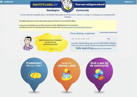 e-Keurmerk voor scholen gelanceerd in Brussel - Kennisnet | Sociale vaardigheden in het onderwijs | Scoop.it