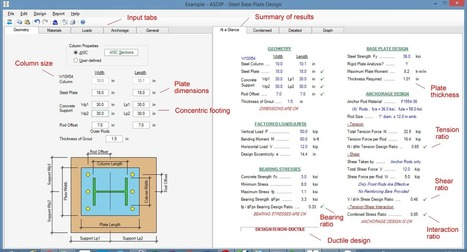 Anchor Bolt Design Calculation Software Online