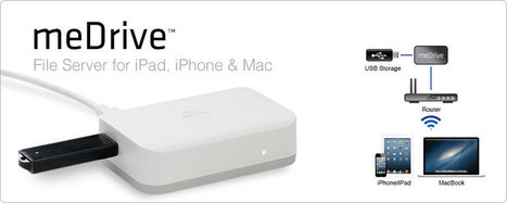 Kanex meDrive A File Server for Apple Devices: Expanded Storage | Educational IPad Info | Scoop.it
