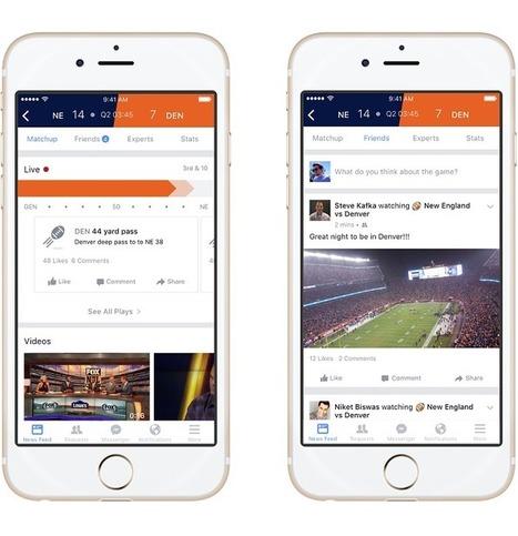 Facebook lance une fonctionnalité dédiée au sport | E-marketing et les réseaux sociaux | Scoop.it