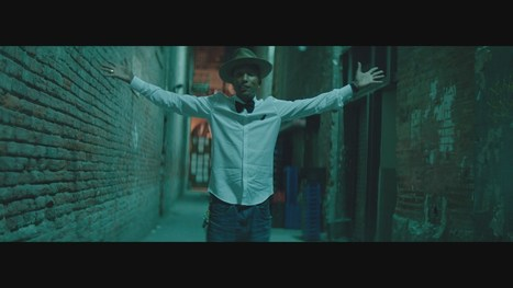 "Pharrell Williams' ""Happy"" 24h non Stop du video clip de tous les buzz, le 31 décembre sur MTV - La sale Com 