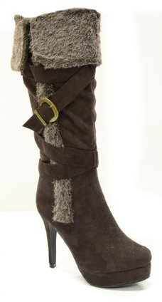 Twisted Women's Ava Knee High Hidden Hidden Pla