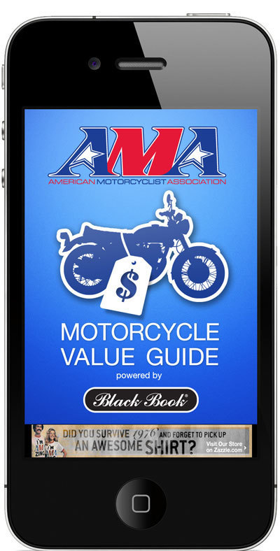 AMA and Black Book launch motorcycle value app for Android andiPhone | Ductalk Ducati News | Scoop.it