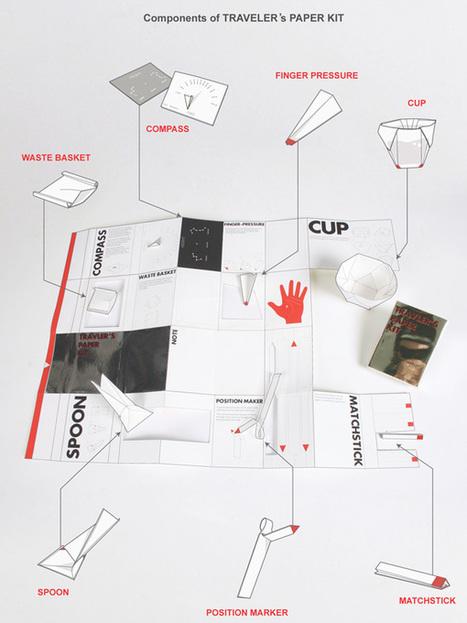 Traveler's Paper Kit by Jaeyong Lee, Jongwon Baek, Seonju Ryu, Sooji Park & Yeonjung Lee | Art, Design & Technology | Scoop.it
