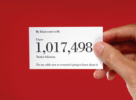 What Your Klout Score Really Means | Binterest | Scoop.it