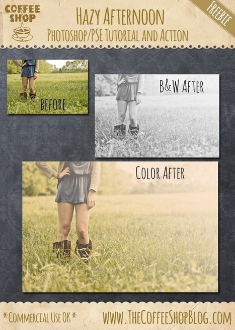 30 Best Amazing Free Photoshop Actions | Design Slots | Scoop.it
