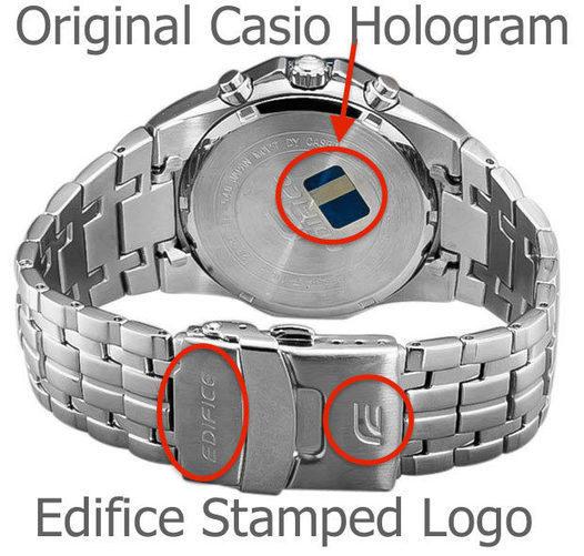 How to Identify Original Edifice Watch?- Casio ...