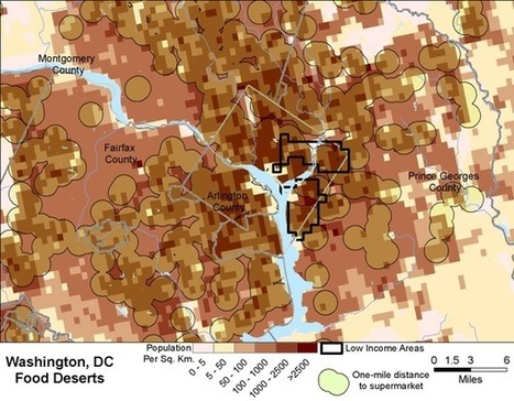 How the USDA Maps Food Deserts: Scientific American | Sustainable Futures | Scoop.it