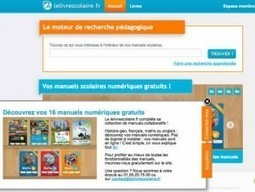 La première collection de manuels scolaires gratuite sur internet | Éducation aux médias | Scoop.it