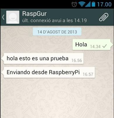 Raspberry Pi: Notificación de la temperatura de la CPU por ... | InternetdelasCosas | Scoop.it