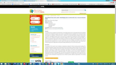 Archivo institucional - UNIR UNIVERSIDAD | E-scribe | Scoop.it