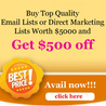 Business Email Lists | Technology Mailing Addresses | Healthcare Database