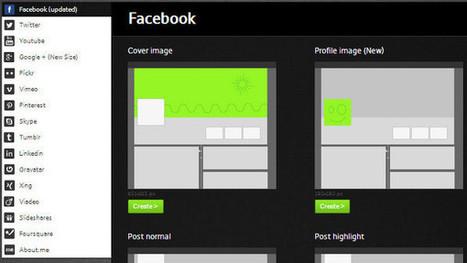 Toutes vos images au bon format sur 16 réseaux sociaux : Social Media Image Maker | Outils et pratiques du web | Scoop.it
