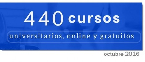 440 cursos universitarios, online y gratuitos que comienzan en octubre | Diseño de proyectos - Disseny de projectes | Scoop.it
