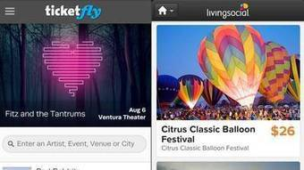 Ticketfly and LivingSocial partner as mobile ticketing grows - Los Angeles Times | Social Media Collaboration | Scoop.it