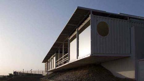 Recyclage : des conteneurs transformés pour un centre de chirurgie cardiaque | Architecture pour tous | Scoop.it