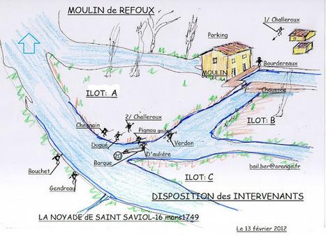 Lulu Sorcière Archive: Noyade de Saint-Saviol - POSITION des INTERVENANTS lors de la TRAGEDIE | GenealoNet | Scoop.it