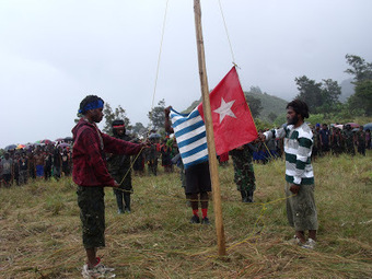 Celebrating West Papua 'Independence,' OPM Calls for Non-Violence - Voice of Baptist Papua | Papuan News | Scoop.it