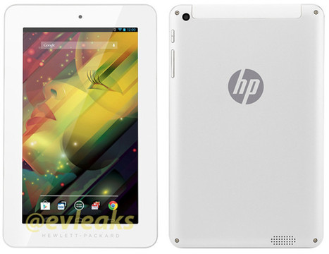 HP tablet render leaks out with bezel, bezel and more bezel | Android Discussions | Scoop.it