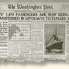 "The ""Unsinkable"" Titanic Sinks"